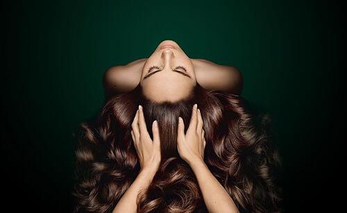 soins brillance cheveux lisses
